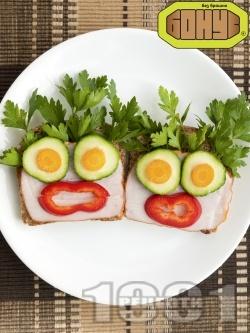 Детски сандвич Кокона - снимка на рецептата